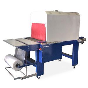 manuelle Schrumpffolienverpackungsmaschine / Flaschen / mit Schrumpftunnel