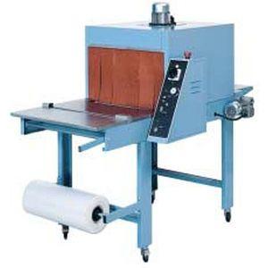 manuelle Schrumpffolienverpackungsmaschine / Flaschen / für Kartons / mit Schrumpftunnel