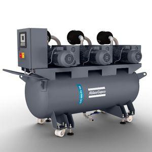 Drehschieberpumpe-Vakuumsystem