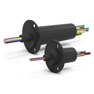 Schleifring zur Leistungs- und Signalübertragung / elektrisch / Kapsel / kompakt