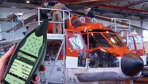 Schwingungsanalysator für Hubschrauberturbine