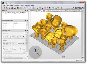Software für 3D-Drucker / zur Modellierung