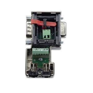 Datensteckverbinder / D-sub / parallel / mit Schraubverriegelung