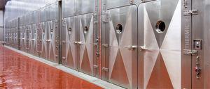Fleisch-Räucherkammer