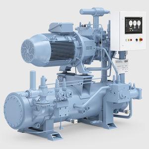 halbhermetischer Kälteverdichter / Schrauben / Ammoniak (R717) / einstufig