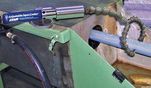 Luftkühler / für Industrieanwendungen / einstellbar / mit Vortex-Schlauch