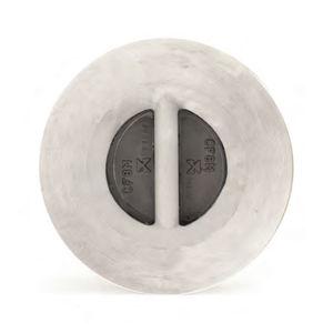 Scheiben-Rückschlagventil / Dampf / Edelstahl / Bronze