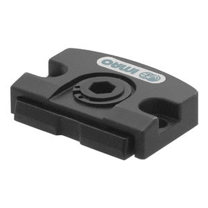 manuell verstellbares Klemmelement / kompakt / Flachprofil / Stahl