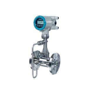 Vortex-Durchflussmesser / für Flüssigkeiten / für Gas / Edelstahl