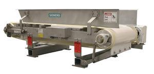 Dosiergerät für die Lebensmittelindustrie / gravimetrisch / Band / Pulver