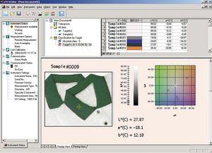 Analysesoftware / Prozesssteuerung / Qualitätssicherung / Farb