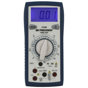 digitales Multimeter / tragbar / 1000 V / 200 mA