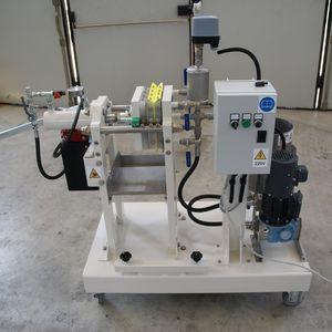 Filterpresse für Labor
