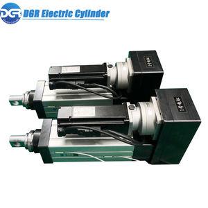 elektrischer Zylinder / Doppel / mit geführter Kolbenstange / mit Gewindestab