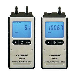 Manometer mit LCD-Display / Differential / für Gas / für HLK