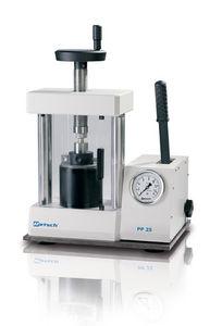 Pelletpresse zur Anfertigung von XRF-Proben