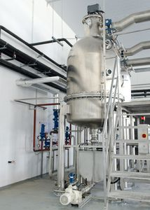 Industrie-Kochkessel / Dampf