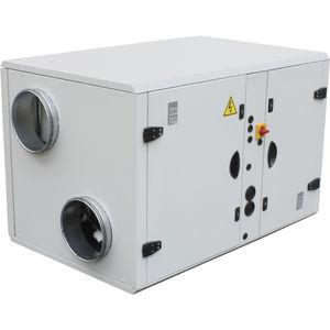 vertikale Luftaufbereitungszentrale / für Reinraum / mit Abwärmenutzung / doppelflutig