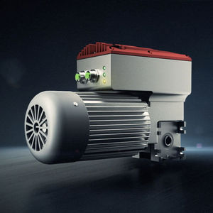 Schneckengetriebemotor / Winkel / Hohlwelle / Stirnrad integrierten Frequenzumrichtern