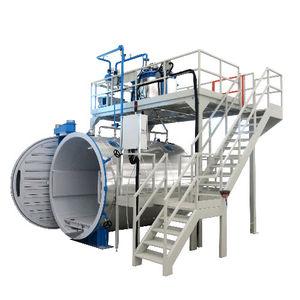 Prozess-Autoklav / Vakuum / horizontal / für Verbundmaterialteile