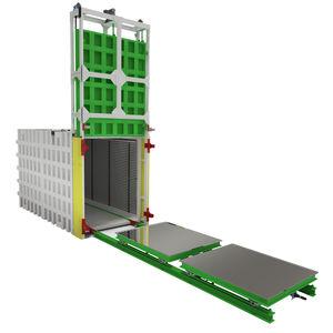Prozess-Autoklav / Frontlader / automatisch / Vakuum