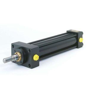 hydraulischer Zylinder / einfach / doppeltwirkend / kompakt