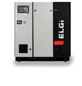 Luftkompressor / stationär / mit Elektroantrieb / Schrauben