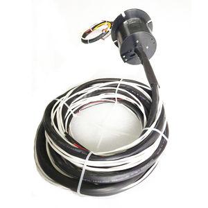 Schleifring zur Leistungs- und Signalübertragung / Kapsel / Sacklochwelle / Vollwellen