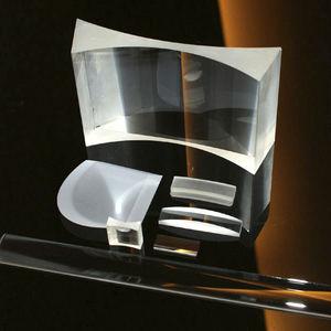 zylindrische Linse / BK7-Glas / aus optischem Glas / aus Quarzglas