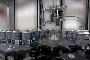 Abfüllanlage für die chemische Industrie