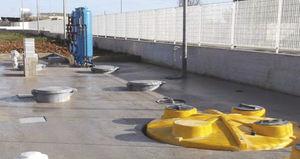Abwasseraufbereitungsstation