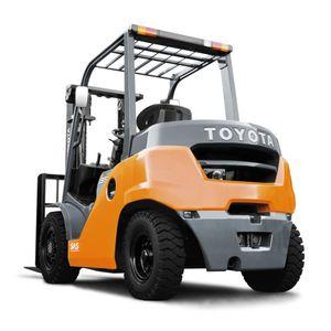 Gabelstapler mit Gegengewicht / Diesel / Sitz / Industrie
