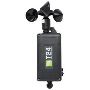 Schalensternanemometer / tragbar / Akku / batteriebetrieben
