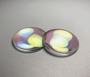 sphärische Linse / einfach / aus optischem Glas / Optik