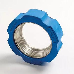 Mutter für Verschraubung / zylindrisch / Stahl / Gummi