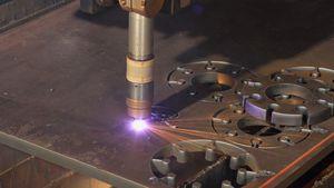 CNC-Plasmaschneider