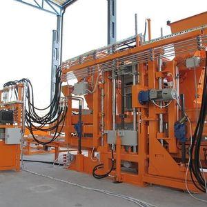 festinstallierte Block Maschine