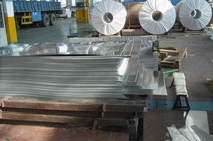 Aluminium-Legierung / in Plattenform