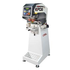 Tampondruckmaschine mit hermetischem Farbgebersystem