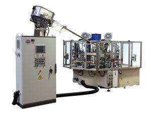 automatische Siebdruckmaschine / 5-Farben / für Kunststoffflaschen
