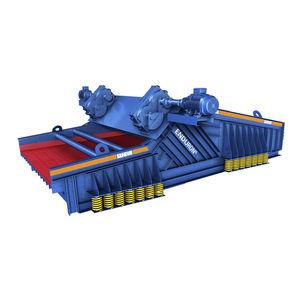 Siebmaschine / lineare Schwingungen / für Schüttgut / Einfachetage