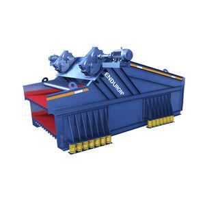 Siebmaschine / lineare Schwingungen / für Schüttgut / Doppeletagen