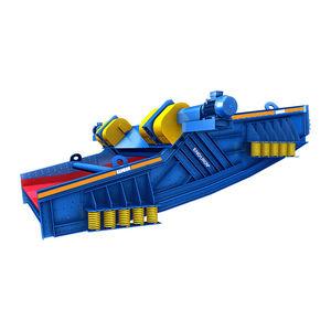 Siebmaschine / lineare Schwingungen / für Schüttgut / Einfachetage / Bananen