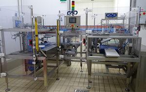 automatische Käse-Entrindungsmaschine