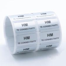 selbstklebendes Etikett / bedruckbar / Thermotransfer / Polyester
