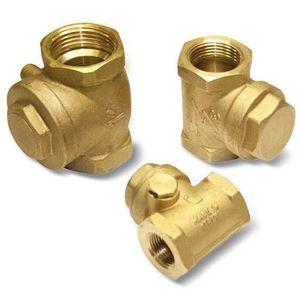 Kugelrückschlagventil / innen / Vakuum / Messing