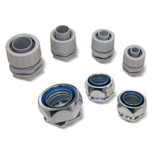 Kompressionsanschluss / gerade / pneumatisch / Polypropylen