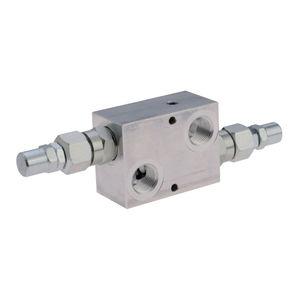 Flansch-Druckbegrenzungsventil / gesteuertes Inline / Sitz / Differential