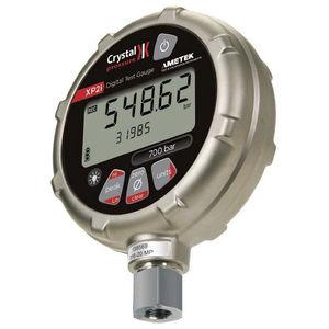 Manometer mit LCD-Display / elektronisch / für Kraftstoff / für Gas