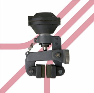 Scheibenbremszange / manuelles Festziehen / pneumatische Betätigung / Federlockerung